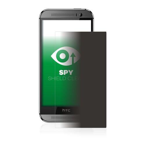 upscreen Schutzfolie »für HTC One M8«, Folie Schutzfolie Sichtschutz klar anti-spy