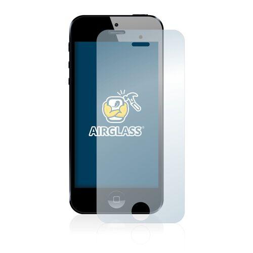 BROTECT Schutzfolie »Panzerglasfolie für Apple iPhone 5«, Schutzglas Glasfolie klar