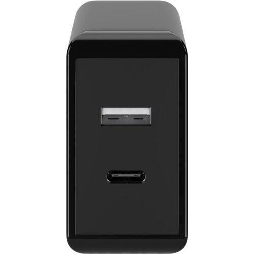 Goobay »Dual USB-Schnellladegerät USB/USB-C PD 28W« USB-Ladegerät