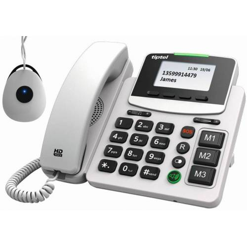 Tiptel SIP-Telefon »3220 XLR«, Grau