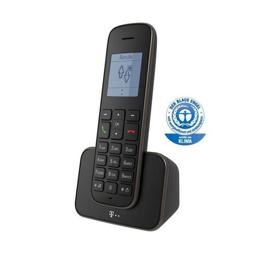 Telekom Telefon Schnurlos »207«, Schwarz