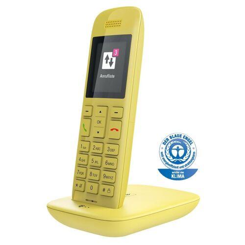 Telekom Telefon schnurlos »Speedphone 11 mit Basis und AB«, Gelb
