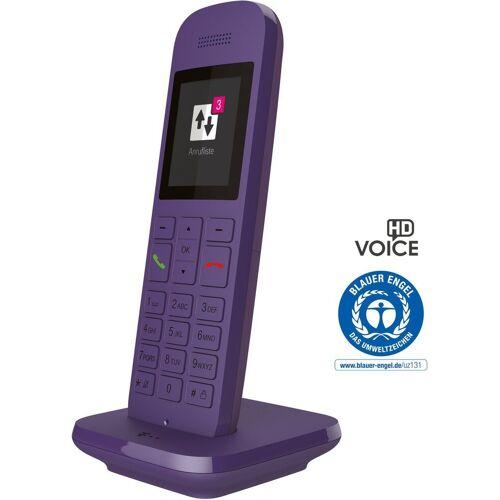 Telekom DECT-Tischtelefon »Speedphone 12«, Lavendel
