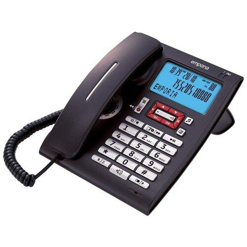 Emporia »T14AB Festnetz-Telefon schwarz« Festnetztelefon