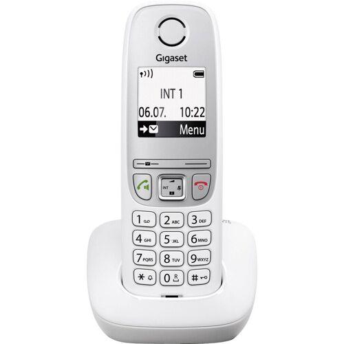 Siemens Gigaset »A415 DECT-Schnurlostelefon Weiß« Schnurloses DECT-Telefon