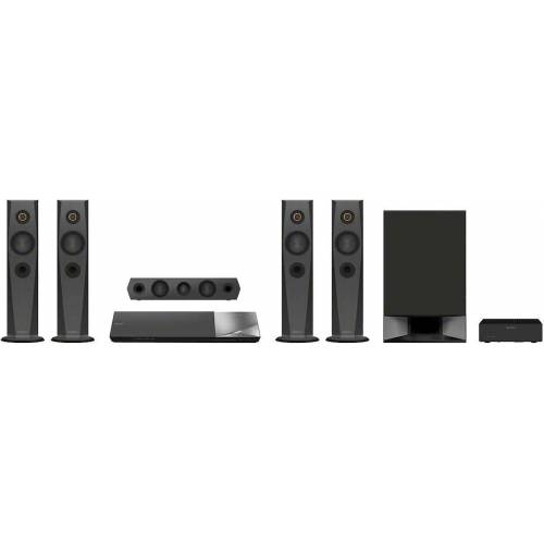 Sony BDV-N7200W 5.1 Heimkinosystem (1200 W, LAN (Ethernet), NFC, 3D-fähig, 4K Upscaling)