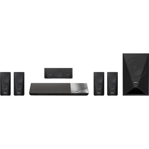 Sony BDV-N5200W 5.1 Heimkinosystem (Bluetooth, WLAN, NFC, 3D-fähig, 4K Upscaling)