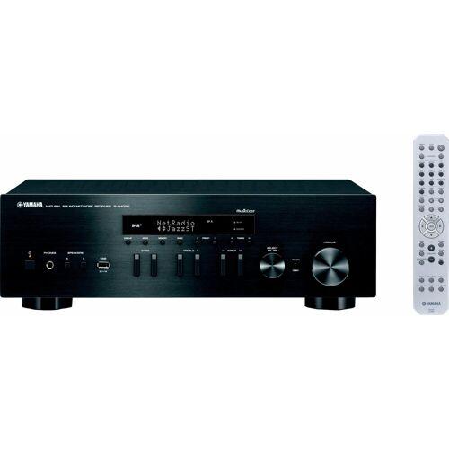 Yamaha »MusicCast R-N402D« Audio-Receiver (LAN (Ethernet), WLAN, Bluetooth, Gesamtleistung (RMS) 200 W), schwarz