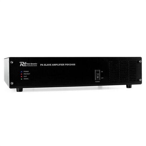 Power Dynamics PDV240S PA-Boost-Verstärker 240W Verstärker