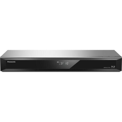 Panasonic »DMR-BCT760/765EG« Blu-ray-Rekorder (WLAN, 3D-fähig, 500 GB Festplatte, 3D-fähig), silberfarben
