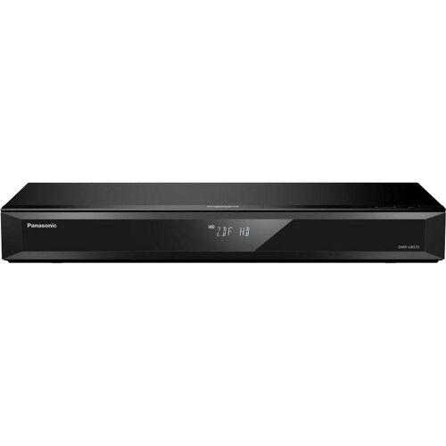Panasonic »DMR-UBS70« Blu-ray-Rekorder (4k Ultra HD, WLAN, LAN (Ethernet), 4K Upscaling, 500 GB Festplatte, für DVB-S, Satellitenempfang), schwarz