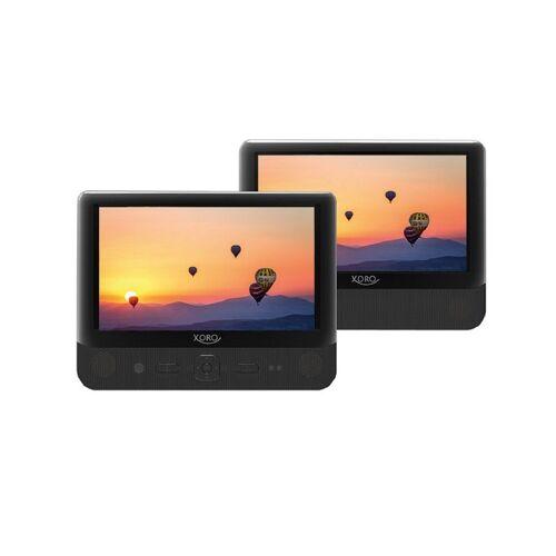 Xoro »HSD 9912« Portabler DVD-Player (Tragbarer DVD Player mit Dual 22,9cm (9 Zoll) TFT Bildschirm)