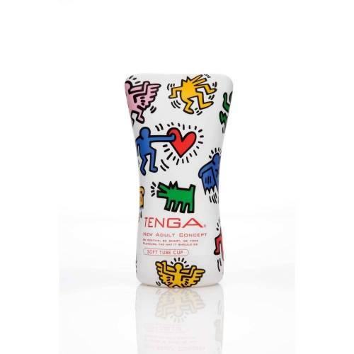 Tenga Masturbator »Keith Haring Soft Tube Cup«