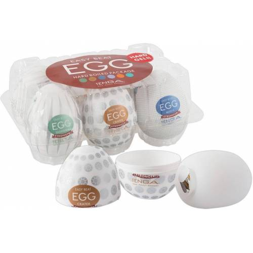 Tenga Masturbator »Egg Variety«, Set 6-tlg., sehr hygienisch