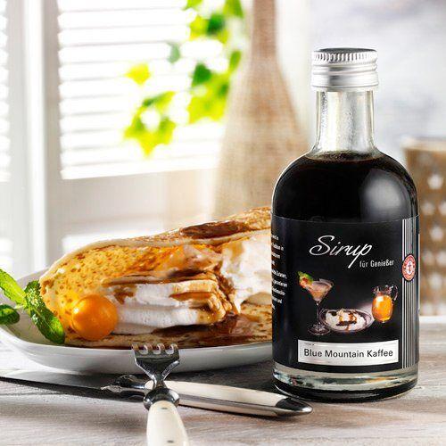 Schrader Sirup mit Blue Mountain Kaffee