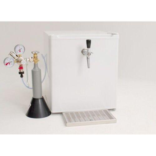 ich-zapfe Bierzapfanlage Faßbierkühlschrank A+ für 2x 5 Liter Dosen - mit Kompressor -TOPP!!!
