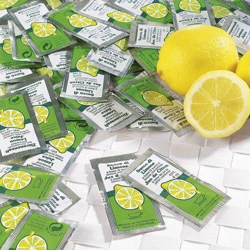 Schrader Zitronensaft Beutel 100 Stück