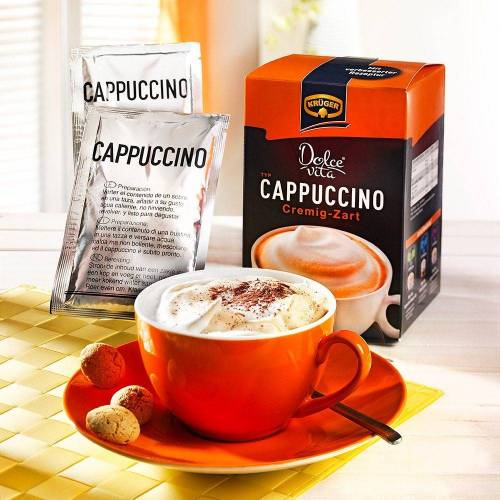 Krüger Cappuccino Cappuccino Cremig-Zart