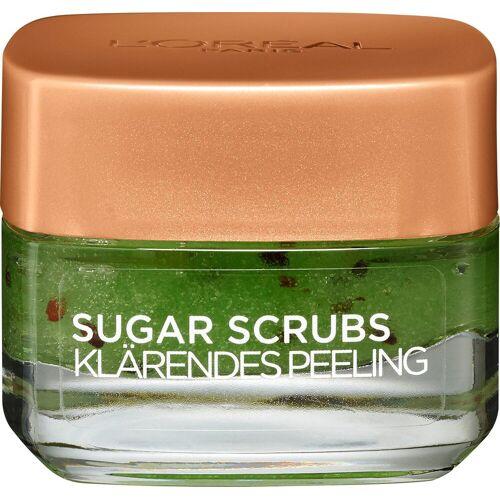 L'ORÉAL PARIS Gesichtspeeling »Sugar Scrub«, klärendes Peeling mit natürlichen Kiwi-Samen
