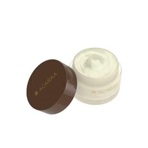 ACARAA Creme »Natural Face Cream 50ml«, mit Aloe Vera vegan, weiß