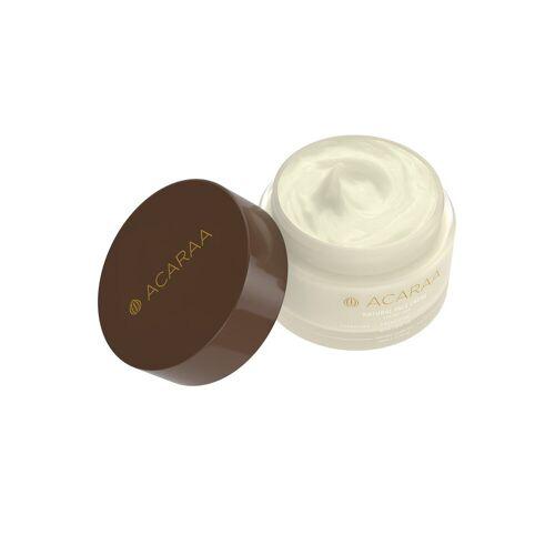 ACARAA Creme »Natural Face Cream dry skin 50ml«, mit Aloe Vera vegan, weiß