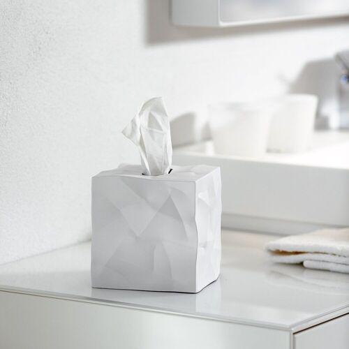 Klein & More Aufbewahrungsbox »Essey Papiertücher-Box WIPY CUBE weiß«