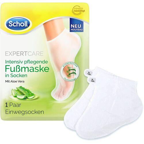 Scholl Fußmaske »Expert Care Intensiv pflegend mit Aloe Vera«, in Socken
