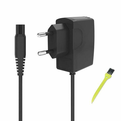 neue dawn Elektrorasierer Rasierer Netzteil Ladegerät 15V 0.5A für Philips Quadra 6865XL 6866XL 6867XL 6887XL 6890XL 6891XL Ladekabel