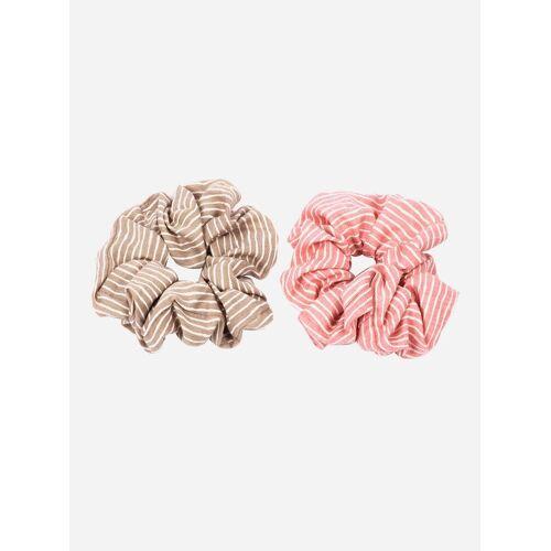 axy Zopfhalter »XXL Scrunchie Haargummis Set«, Doppelpack, 2-tlg., 2-Teiliges Scrunchies Haargummis Set, Zopfgummi Haarteil Haarband, Set 2