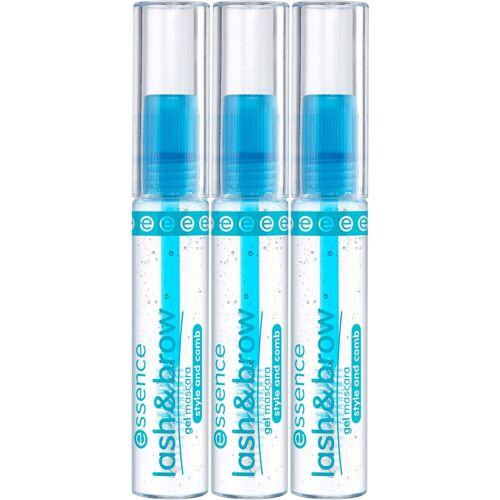 Essence Mascara »lash & brow gel«, 3-tlg.