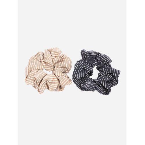 axy Zopfhalter »XXL Scrunchie Haargummis Set«, Doppelpack, 2-tlg., 2-Teiliges Scrunchies Haargummis Set, Zopfgummi Haarteil Haarband, Set 1
