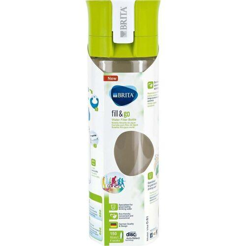 Brita Trinkflasche »Wasserfilter-Flasche Fill & Go VITAL 0,6 L Lime«