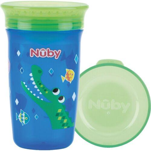 "Nuby Trinklernbecher »360° Trinklernbecher ""WONDER CUP"", 300 ml, Blue«"
