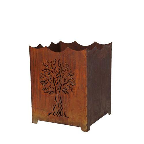 HTI-Line Feuerkorb »Tree«, Braun