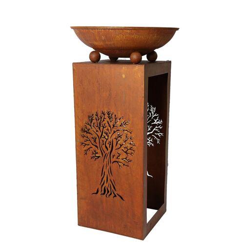 HTI-Line Feuerschale »Tree«, Braun