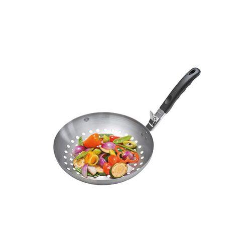 GEFU Grillpfanne »Gemüse-Wok BBQ«, Edelstahl (1-tlg)