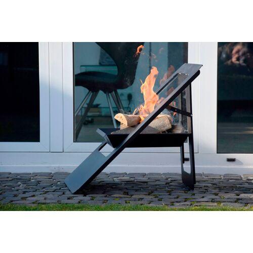 dobar Feuerschale »Design«, B/T/H: 50/56/61 cm, schwarz