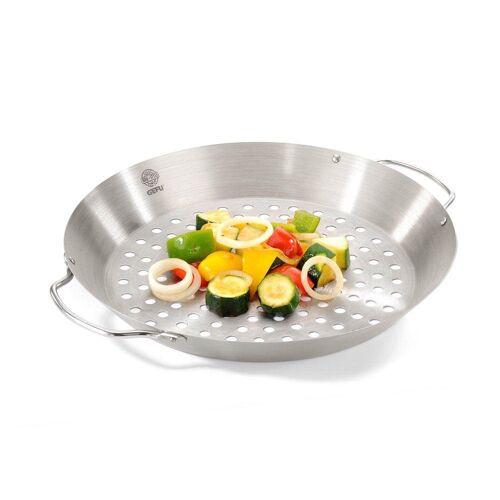 GEFU Grillpfanne »Hähnchengriller und Gemüse-Wok BBQ«, Edelstahl (1-tlg)