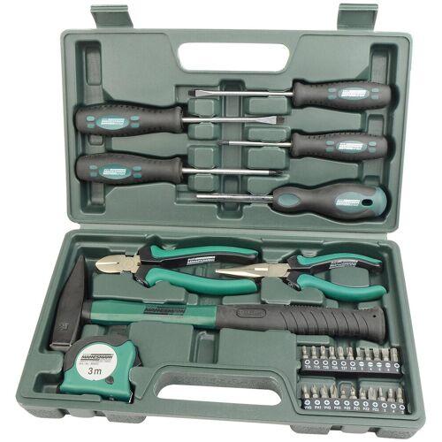 Brüder Mannesmann Werkzeuge MANNESMANN Werkzeugsatz »31-tlg.«, grün