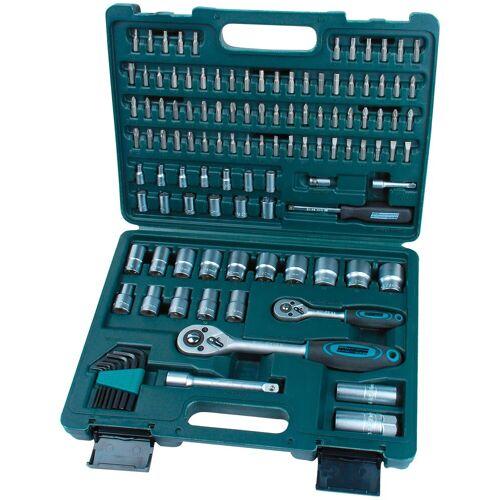 Brüder Mannesmann Werkzeuge BRUEDER MANNESMANN WERKZEUGE Steckschlüsselsatz , 115-tlg., grün