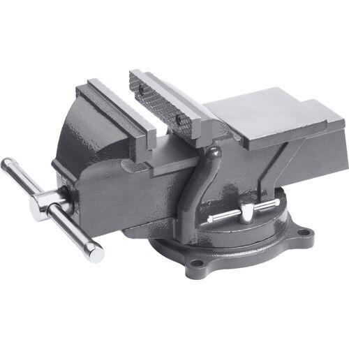 meister Schraubstock , 125 mm, drehbar, grau