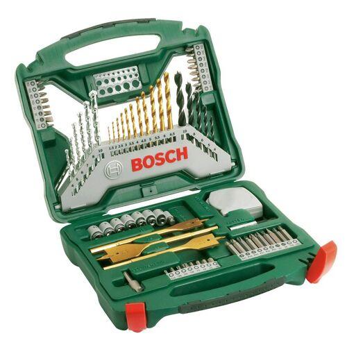 Bosch Bohrer- und Bit-Set »X-Line Titanium 70«, 70-tlg., grün