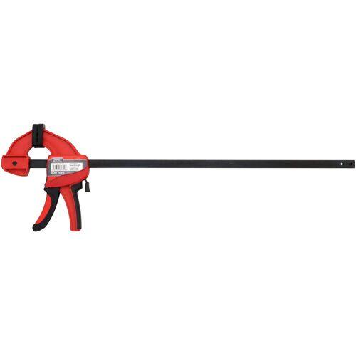 Connex Schraubzwinge »Power-Spannzwinge«, Einhandzwinge, 600 mm, rot