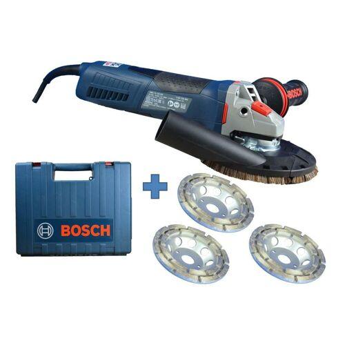 Bosch Winkelschleifer »BETONSCHLEIFER-SET 1700 WATT 125MM DREHZAHLREGELUNG WINKELSCHLEIFER SET #253«, max. 11500 U/min
