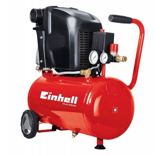 Einhell Kompressor, Ölschmierung sichert Langlebigkeit