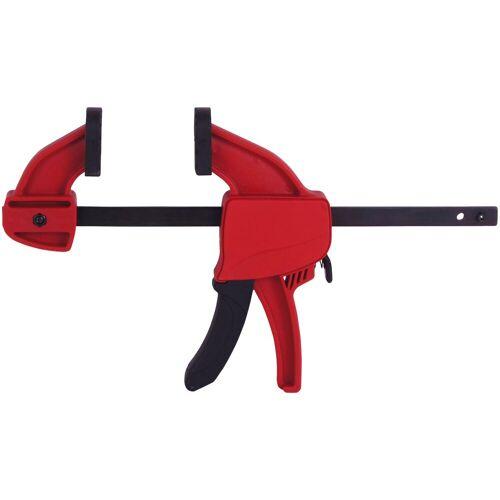 Connex Schraubzwinge »Mini-Spann- & Spreizwinge«, Spannweite 0 - 300 mm, rot