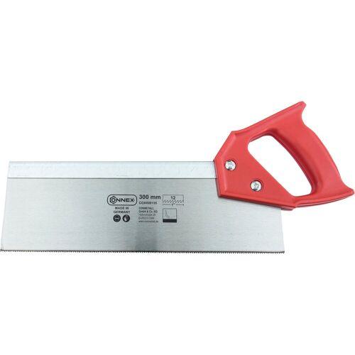 Connex Rückensäge 300 mm, Kunststoffgriff, rot