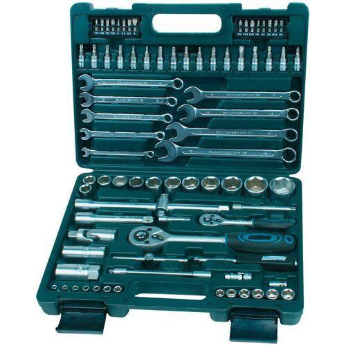 Brüder Mannesmann Werkzeuge BRUEDER MANNESMANN WERKZEUGE Steckschlüsselsatz »M29112 «, 82-tgl., grün