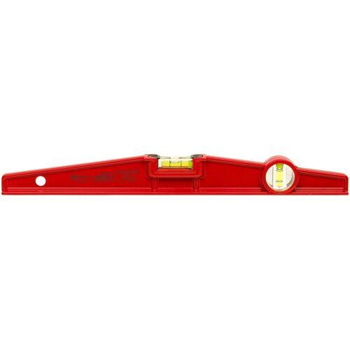 Connex Wasserwaage Trapez-Wasserwaage, 40 cm, Druckguss, rot