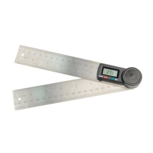 Brüder Mannesmann Werkzeuge Winkelmesser, bis 360°, L:49 cm, inkl. Batterie